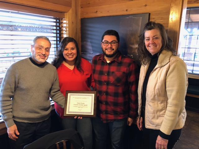 Welcome Poineers' Club Chamber Member State Farm - Loreto Arzola Agent!