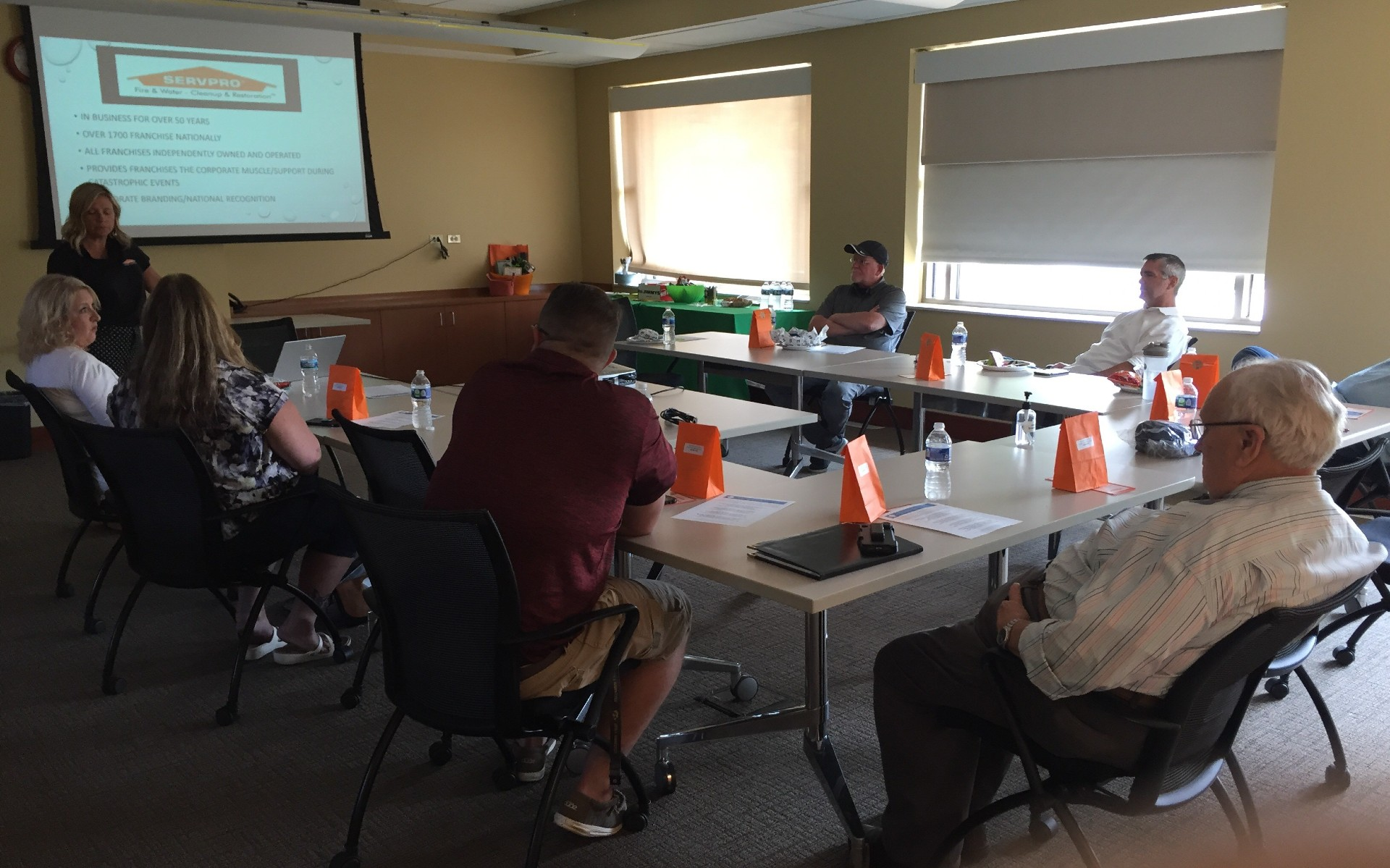 August Lunch and Learn hosted by Servpro of Aurora