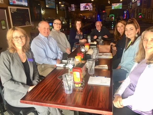 Monthly Luncheon at Chamber Member Rosati's Pizza