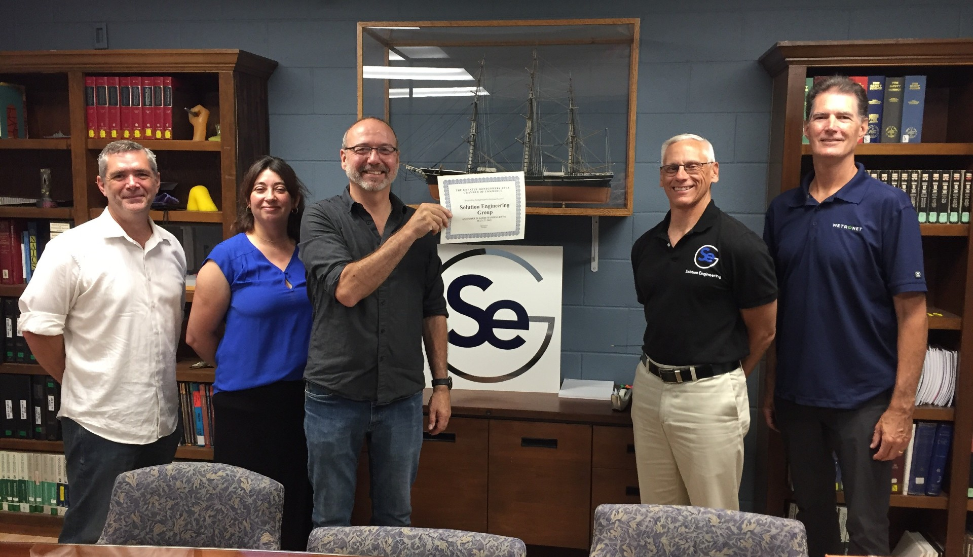 Welcome new Chamber Member Solution Engineering Group!
