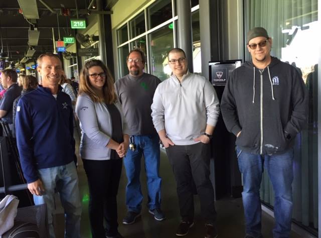 GMACC Golf outing at Top Golf Naperville